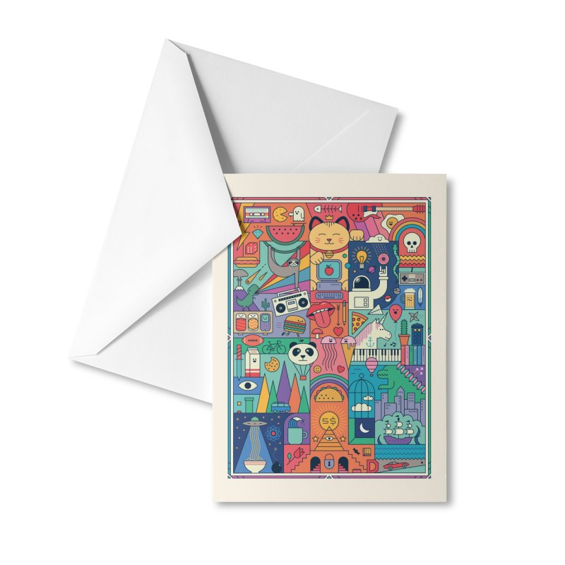 The Big Tee Accessories Greeting Card by thepapercrane's shop