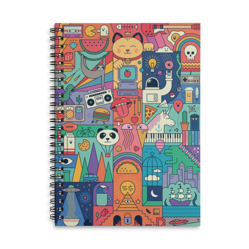 The Big Tee Accessories Notebook by thepapercrane's shop