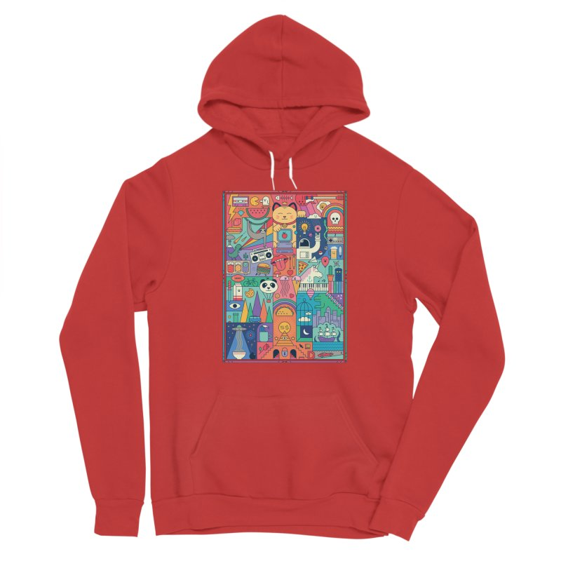 The Big Tee Women's Pullover Hoody by thepapercrane's shop