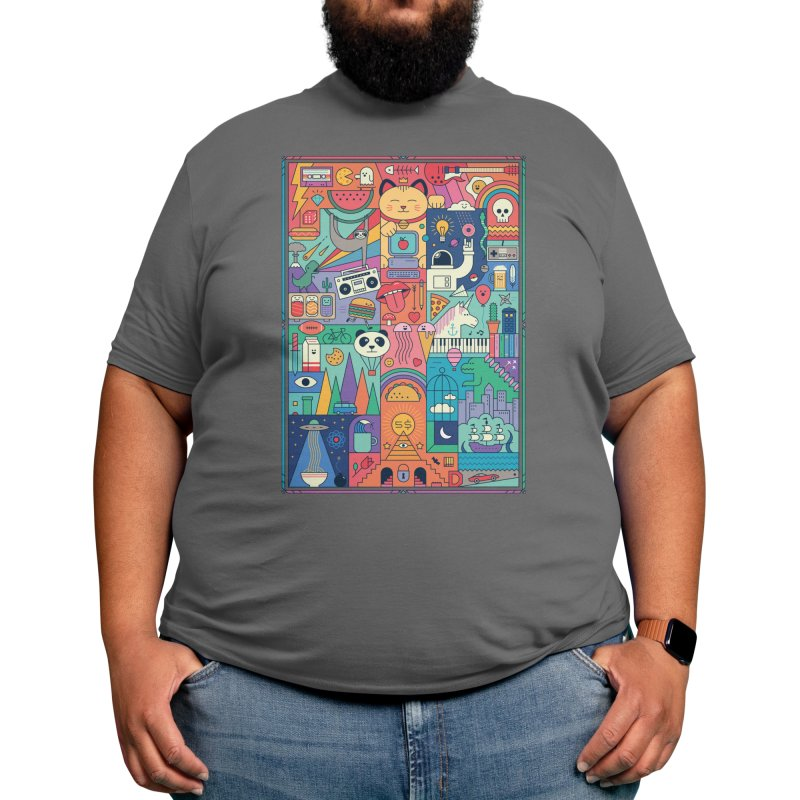The Big Tee Men's T-Shirt by thepapercrane's shop