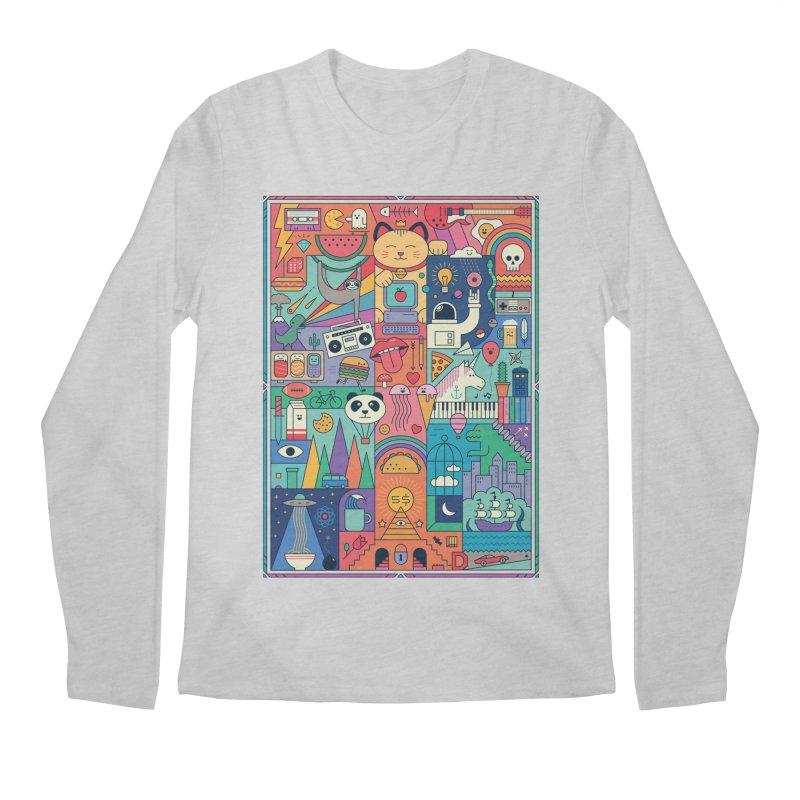 The Big Tee Men's Longsleeve T-Shirt by thepapercrane's shop