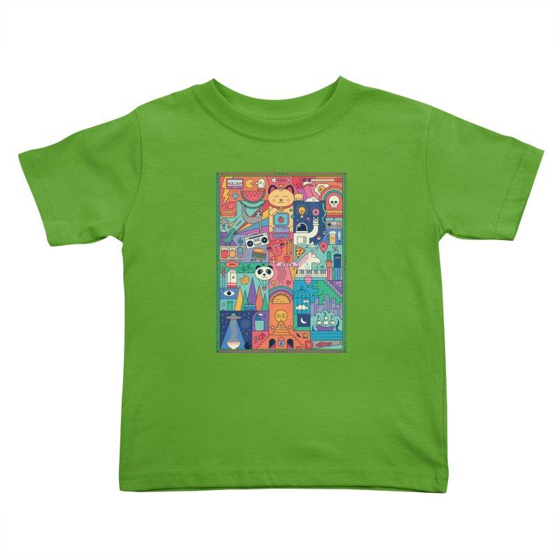 The Big Tee Kids Toddler T-Shirt by thepapercrane's shop