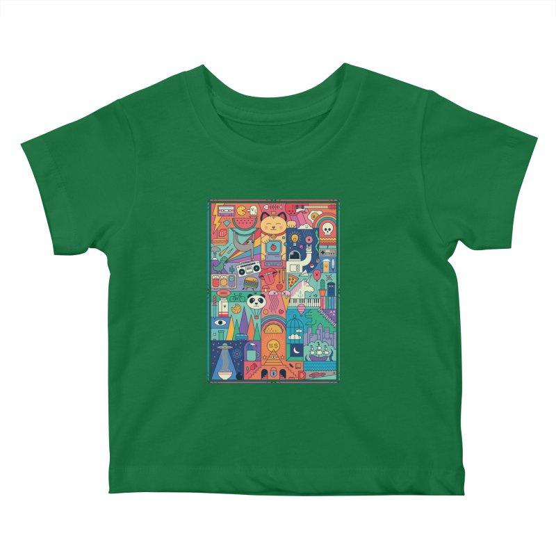The Big Tee Kids Baby T-Shirt by thepapercrane's shop