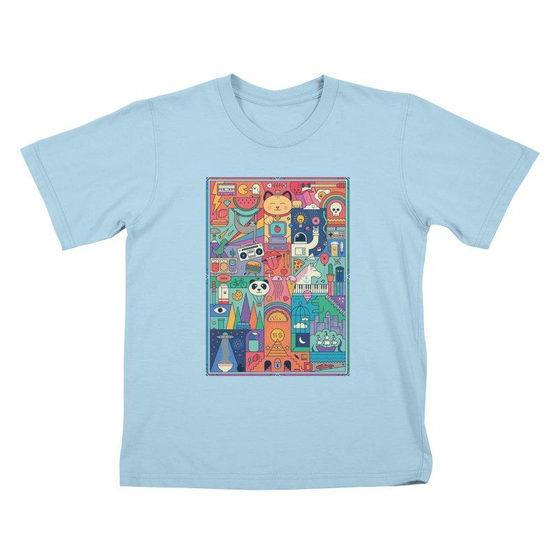The Big Tee Kids T-Shirt by thepapercrane's shop