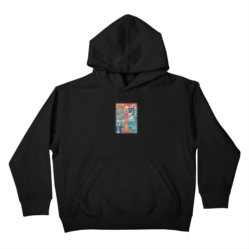 The Big Tee Kids Pullover Hoody by thepapercrane's shop