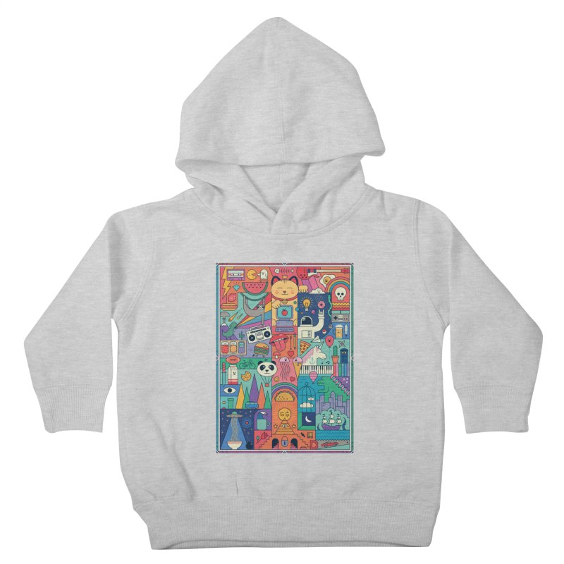 The Big Tee Kids Toddler Pullover Hoody by thepapercrane's shop