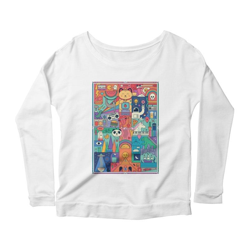 The Big Tee Women's Longsleeve T-Shirt by thepapercrane's shop