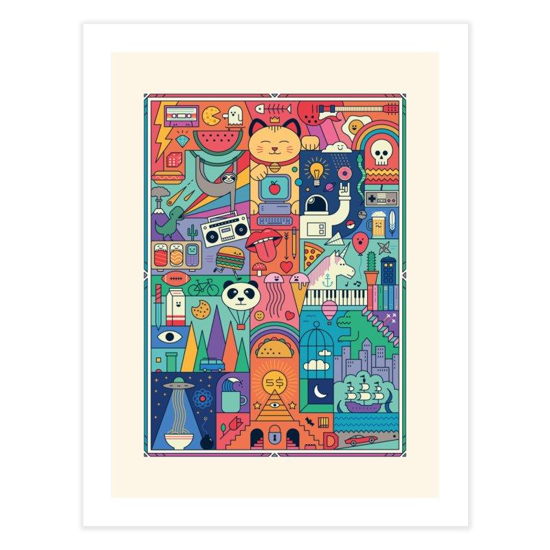 The Big Tee Home Fine Art Print by thepapercrane's shop