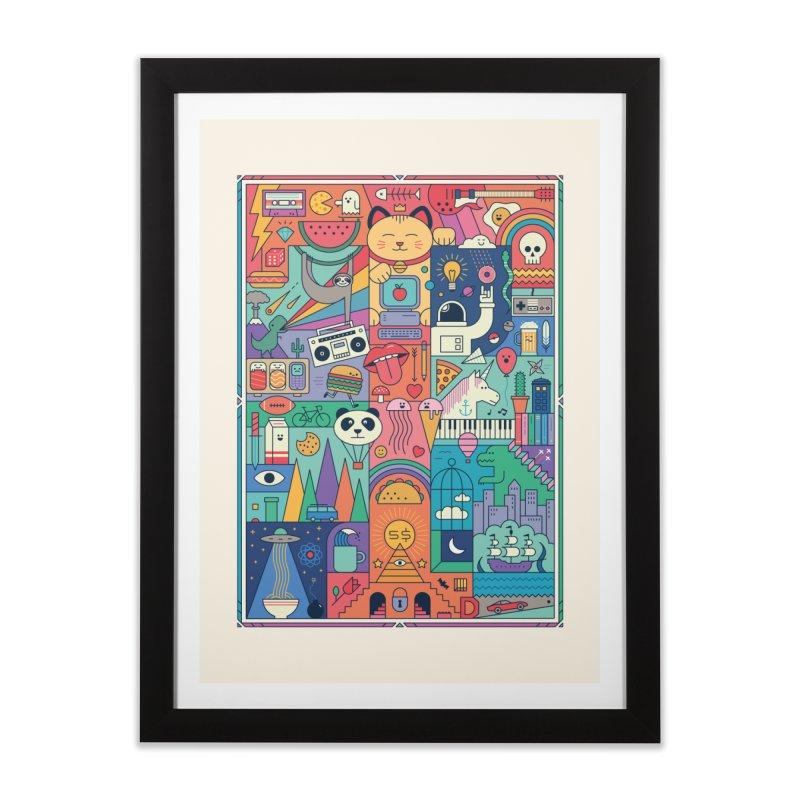 The Big Tee Home Framed Fine Art Print by thepapercrane's shop