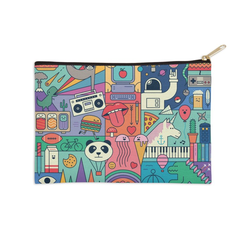 The Big Tee Accessories Zip Pouch by thepapercrane's shop
