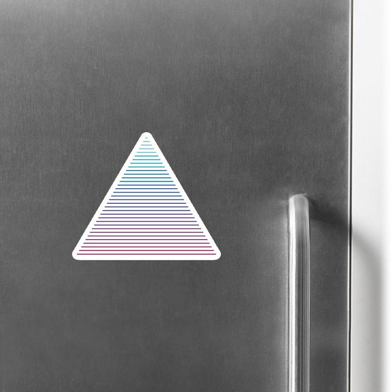 Neon Strata Accessories Magnet by thepapercrane's shop