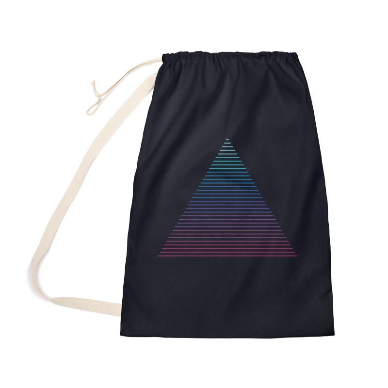 Neon Strata Accessories Bag by thepapercrane's shop