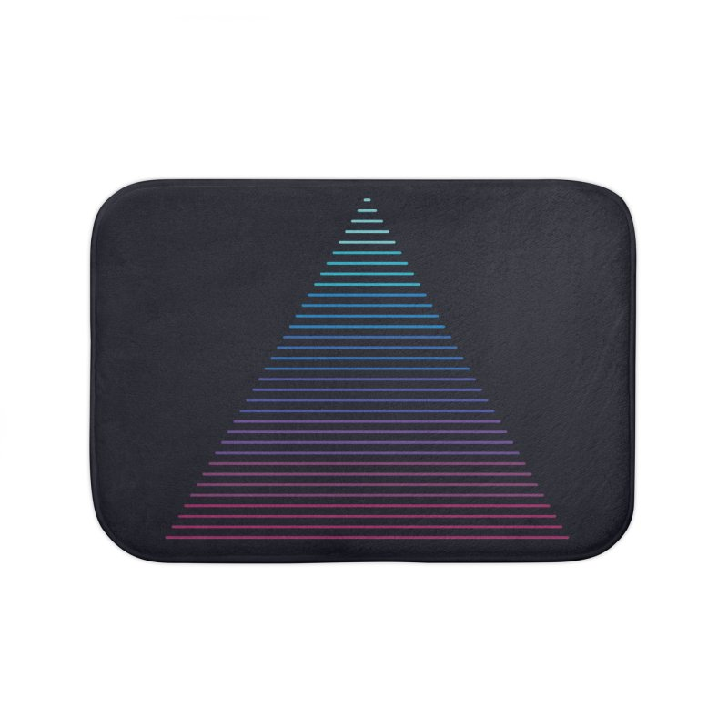 Neon Strata Home Bath Mat by thepapercrane's shop