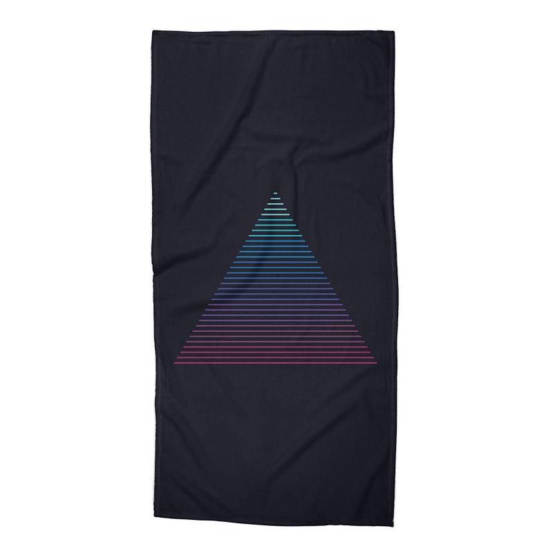 Neon Strata Accessories Beach Towel by thepapercrane's shop