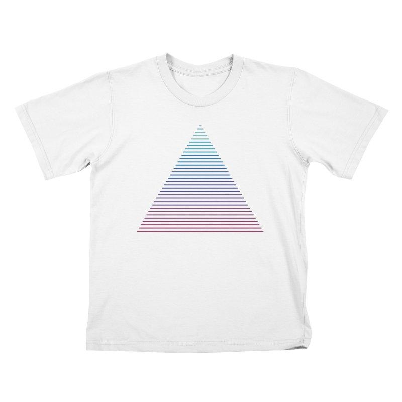 Neon Strata Kids T-Shirt by thepapercrane's shop