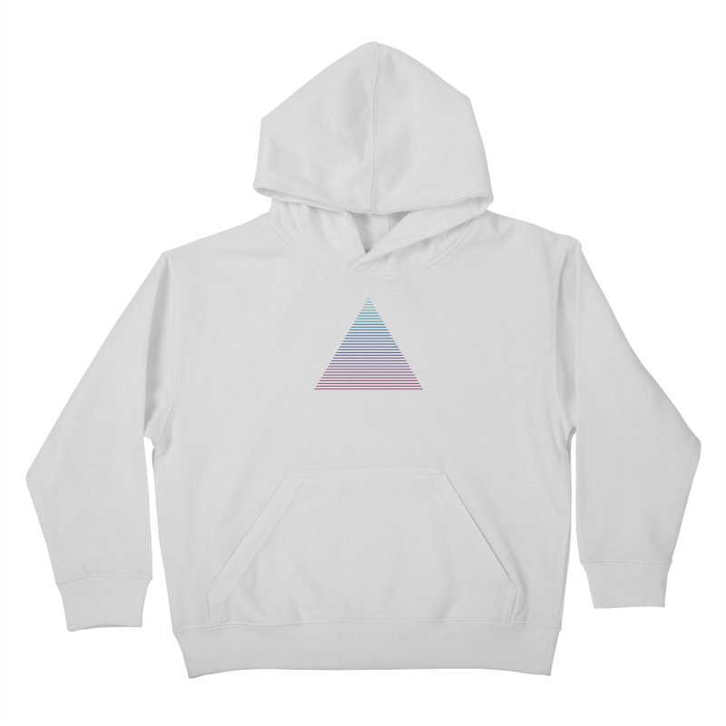 Neon Strata Kids Pullover Hoody by thepapercrane's shop