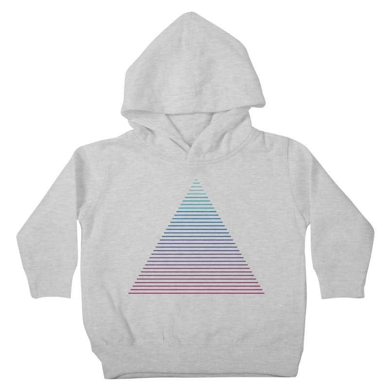 Neon Strata Kids Toddler Pullover Hoody by thepapercrane's shop
