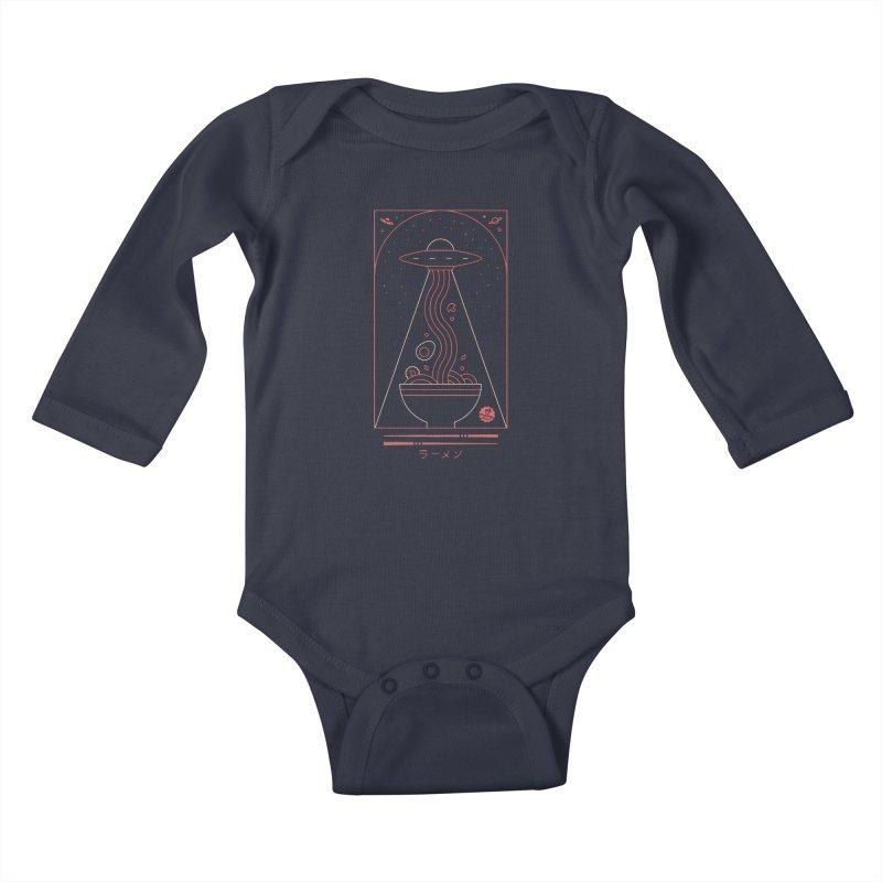Ramen Takeout Kids Baby Longsleeve Bodysuit by thepapercrane's shop