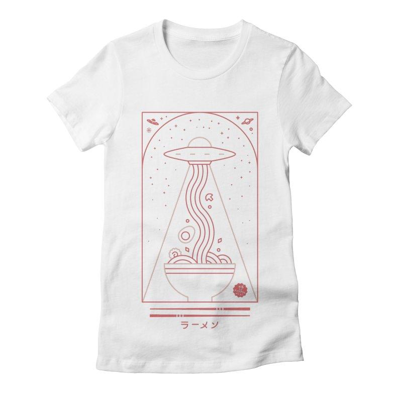 Ramen Takeout Women's T-Shirt by thepapercrane's shop