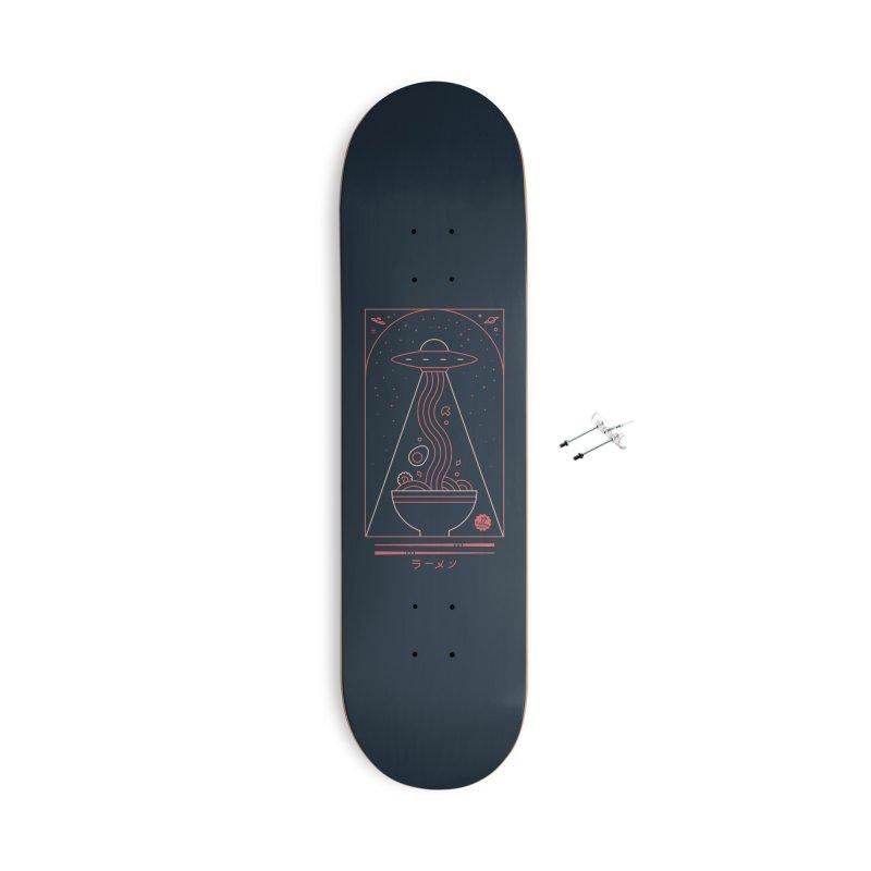 Ramen Takeout Accessories Skateboard by thepapercrane's shop