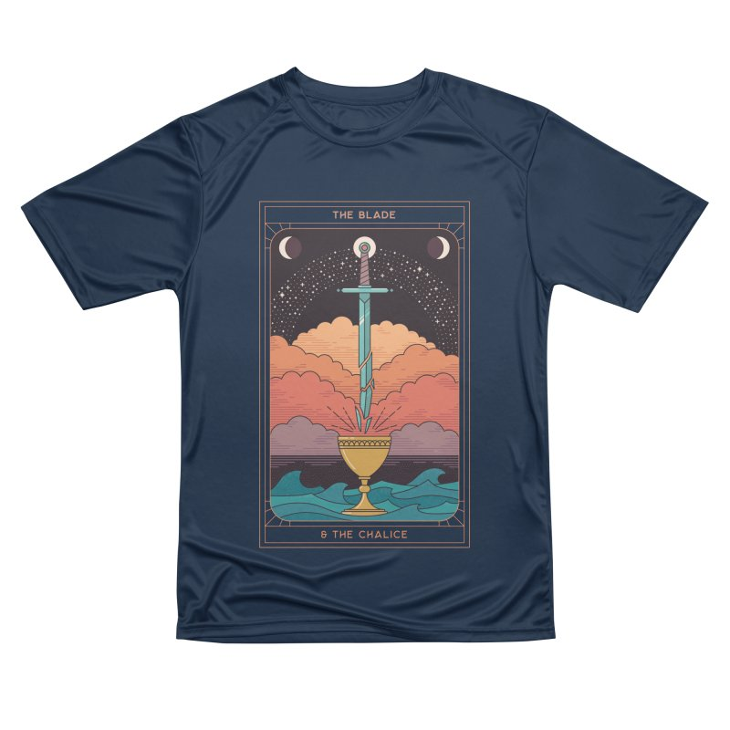 The Blade And The Chalice Men's T-Shirt by thepapercrane's shop