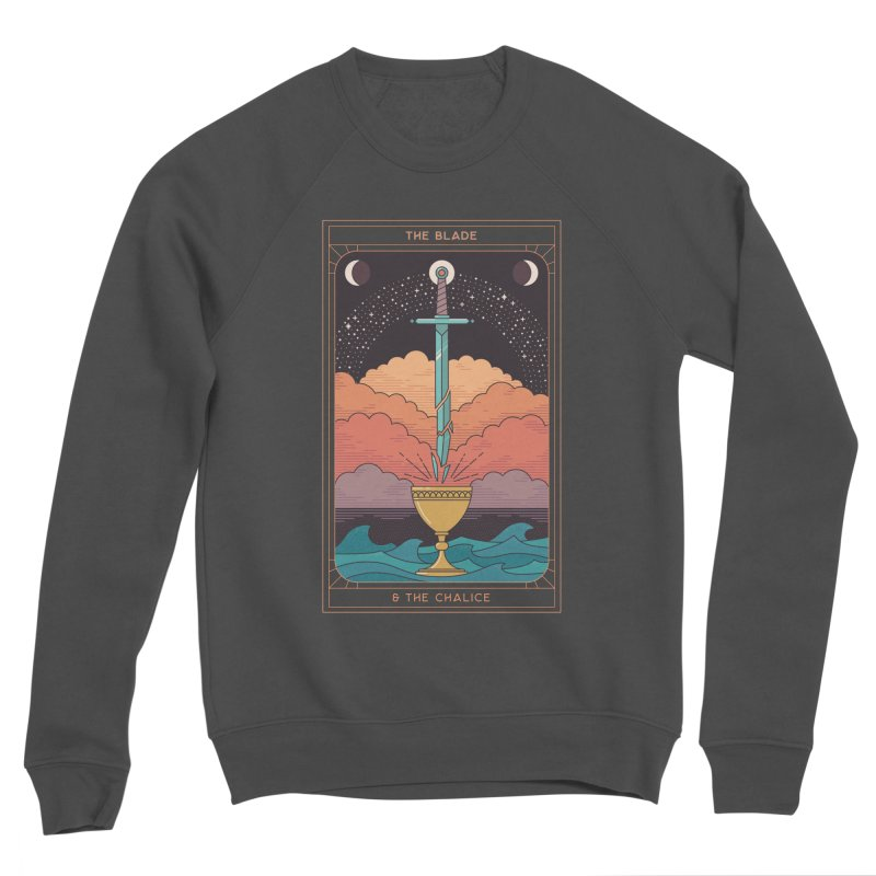 The Blade And The Chalice Women's Sweatshirt by thepapercrane's shop