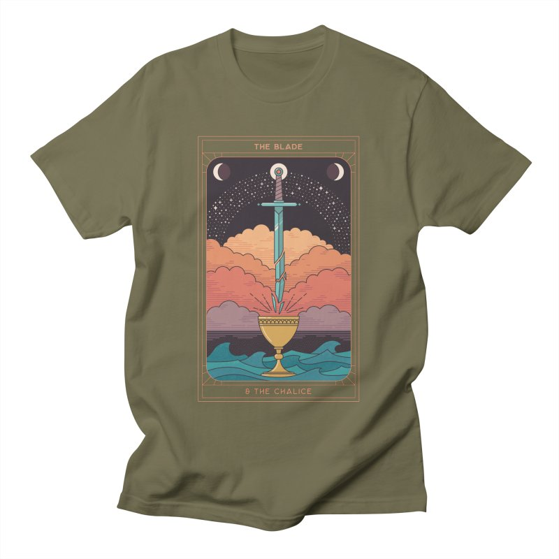 The Blade And The Chalice Women's T-Shirt by thepapercrane's shop
