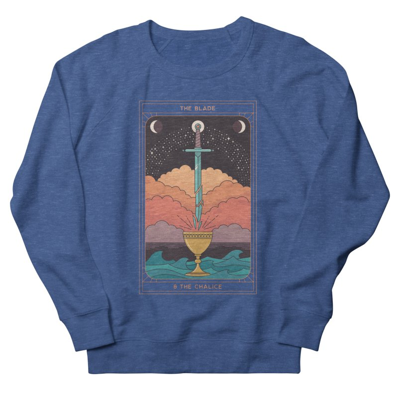 The Blade And The Chalice Men's Sweatshirt by thepapercrane's shop