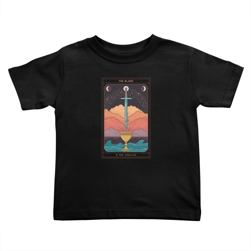 The Blade And The Chalice Kids Toddler T-Shirt by thepapercrane's shop