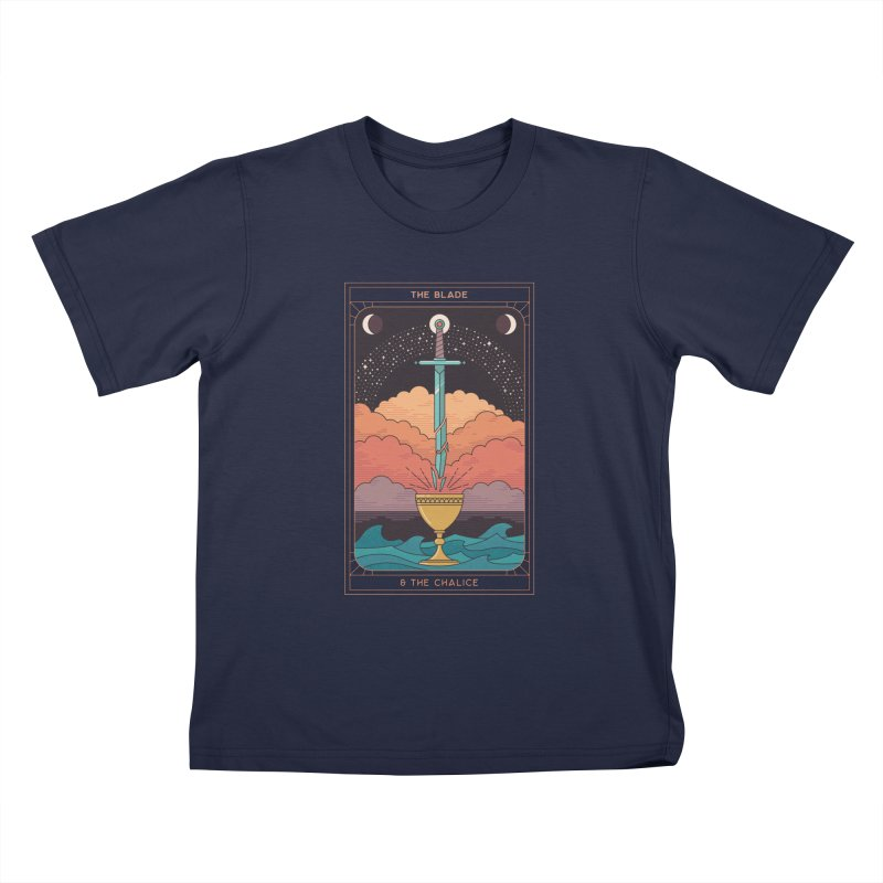 The Blade And The Chalice Kids T-Shirt by thepapercrane's shop