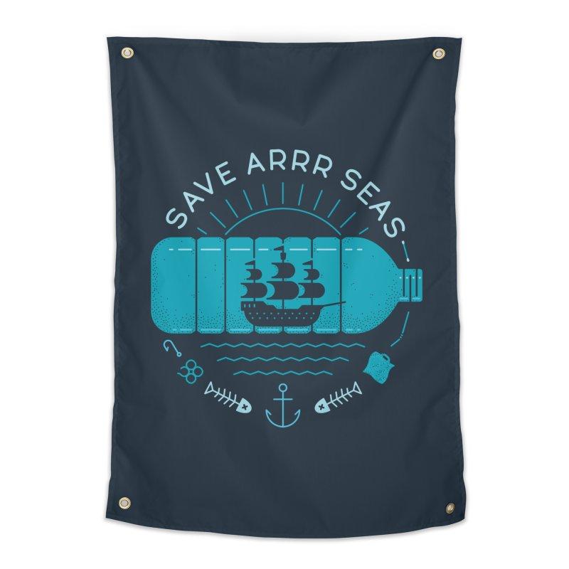 Save Arrr Seas Home Tapestry by thepapercrane's shop