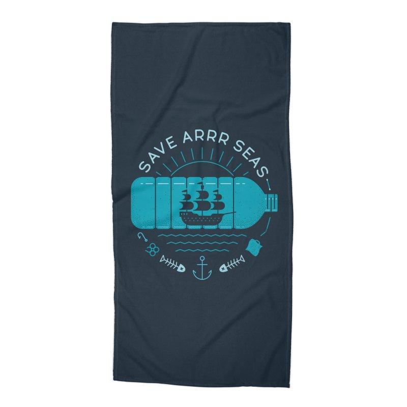 Save Arrr Seas Accessories Beach Towel by thepapercrane's shop