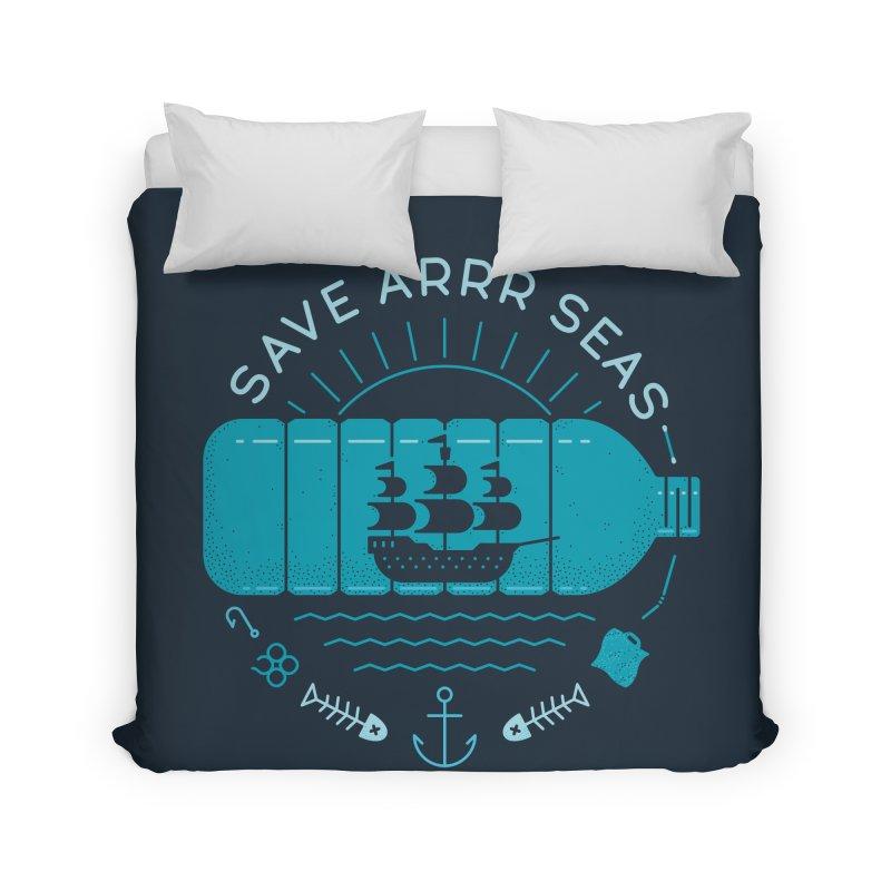 Save Arrr Seas Home Duvet by thepapercrane's shop