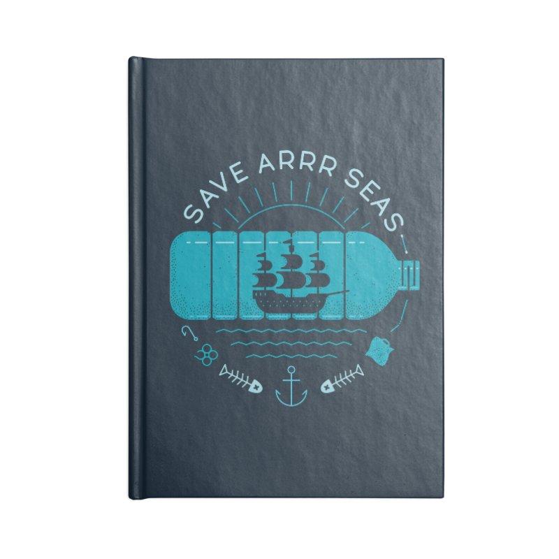 Save Arrr Seas Accessories Notebook by thepapercrane's shop