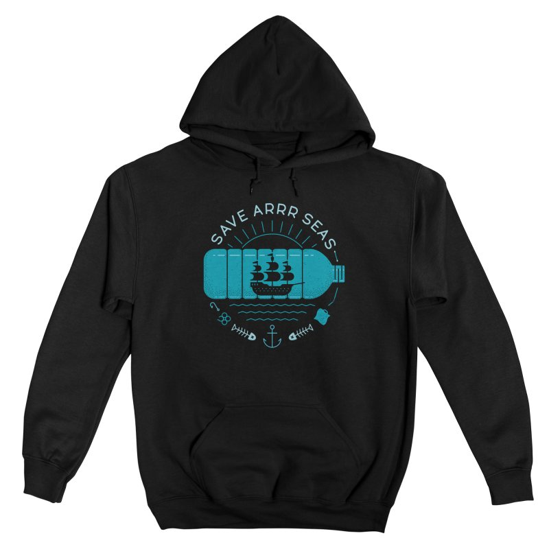 Save Arrr Seas Women's Pullover Hoody by thepapercrane's shop