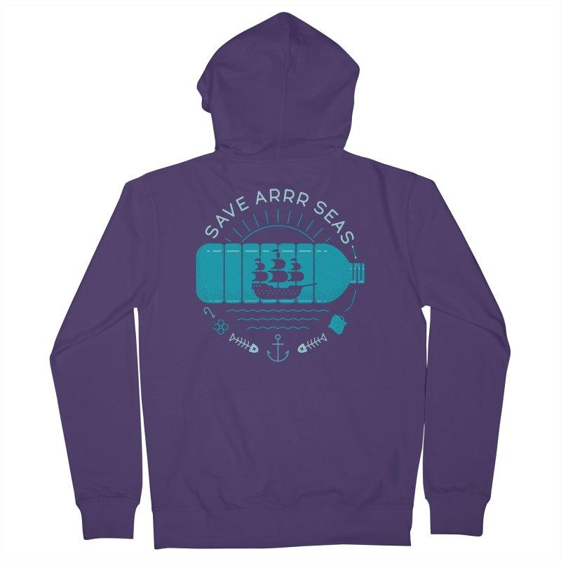 Save Arrr Seas Women's Zip-Up Hoody by thepapercrane's shop