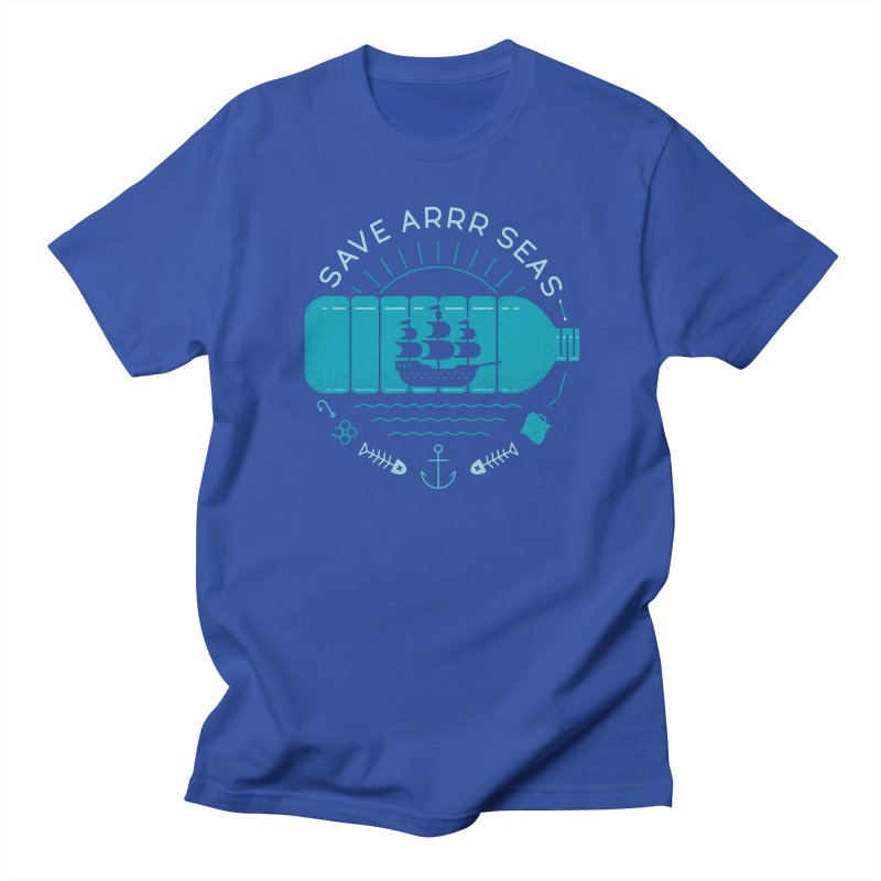 Save Arrr Seas Men's T-Shirt by thepapercrane's shop