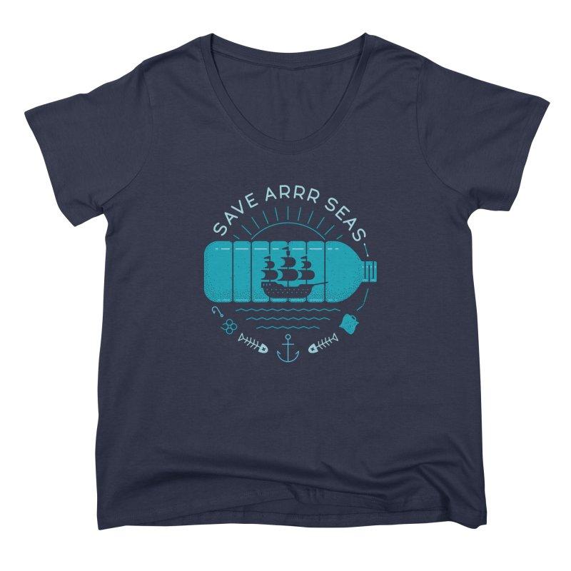 Save Arrr Seas Women's Scoop Neck by thepapercrane's shop