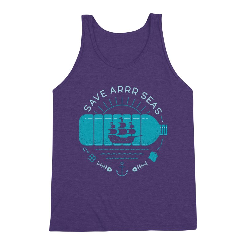 Save Arrr Seas Men's Tank by thepapercrane's shop