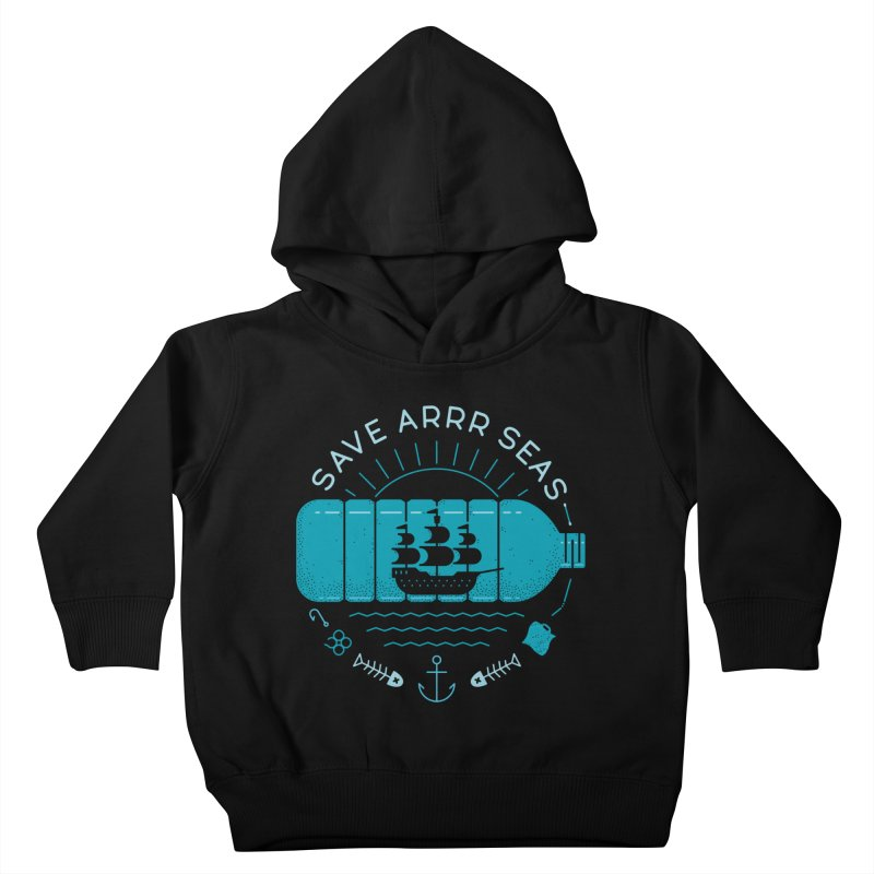 Save Arrr Seas Kids Toddler Pullover Hoody by thepapercrane's shop