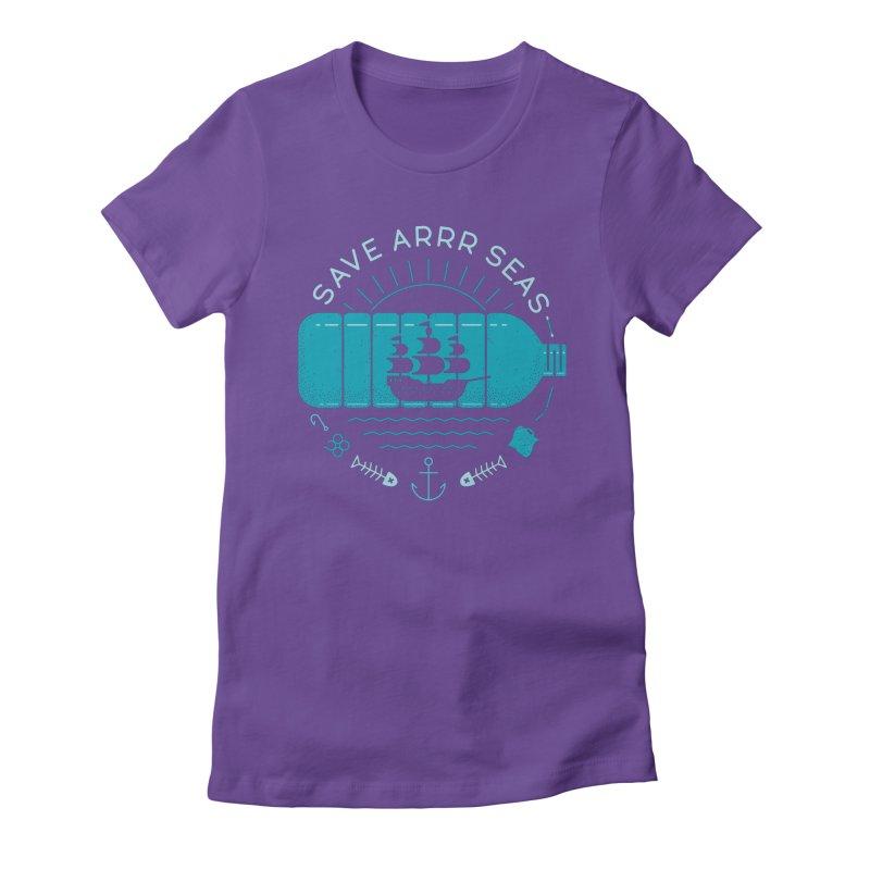 Save Arrr Seas Women's T-Shirt by thepapercrane's shop