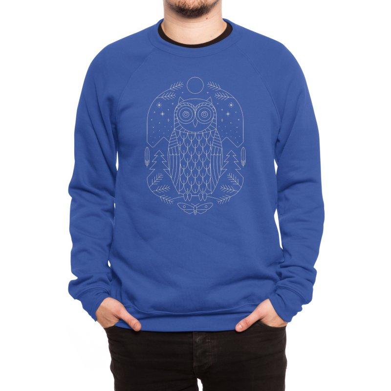Night Life Men's Sweatshirt by thepapercrane's shop