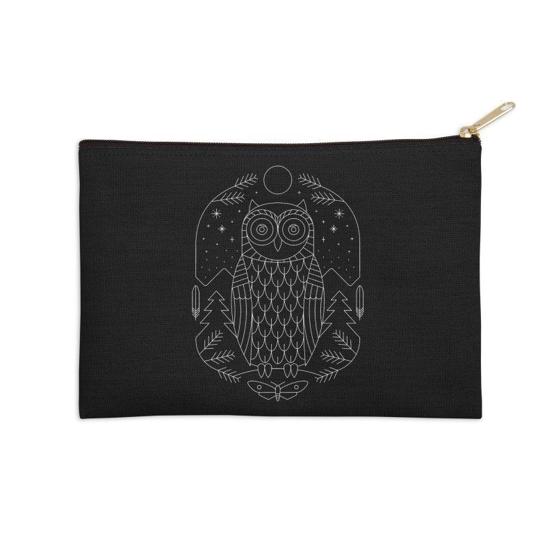 Night Life Accessories Zip Pouch by thepapercrane's shop
