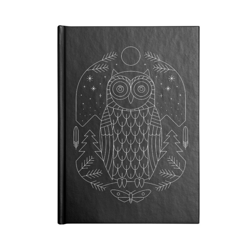 Night Life Accessories Notebook by thepapercrane's shop
