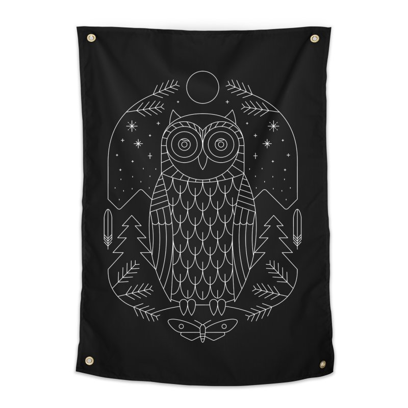 Night Life Home Tapestry by thepapercrane's shop