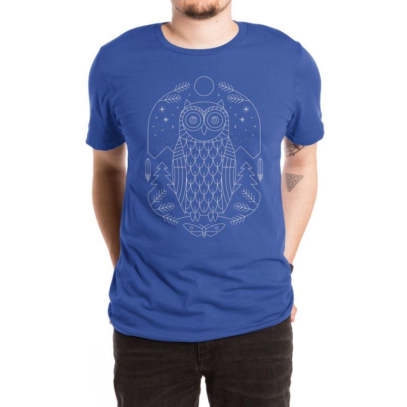 Night Life Men's T-Shirt by thepapercrane's shop