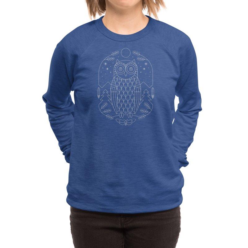 Night Life Women's Sweatshirt by thepapercrane's shop