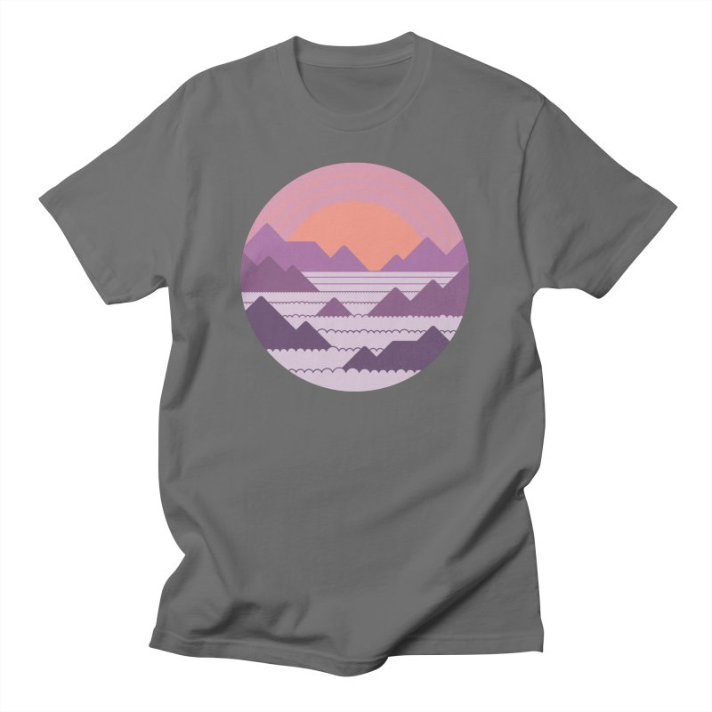 Above The Clouds Men's T-Shirt by thepapercrane's shop