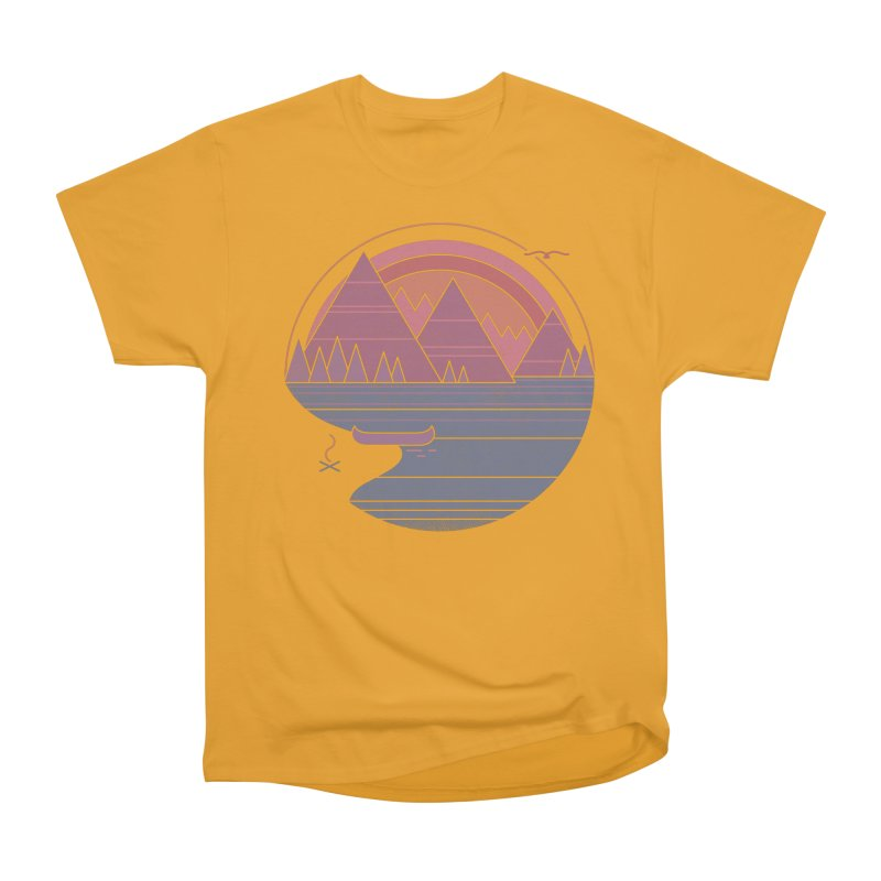 The Mountains Are Calling Men's Classic T-Shirt by thepapercrane's shop