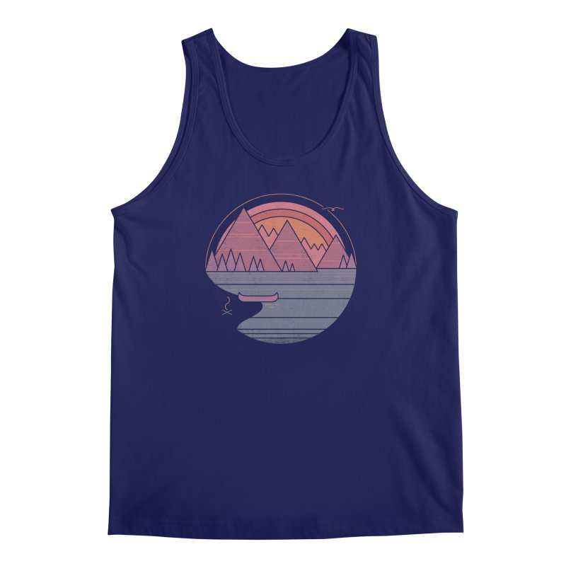 The Mountains Are Calling Men's Tank by thepapercrane's shop